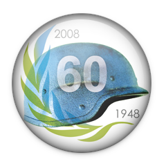60th anniversary of UN peacekeepers in 2008